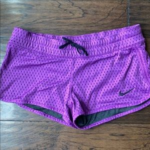 Nike reversible running shorts